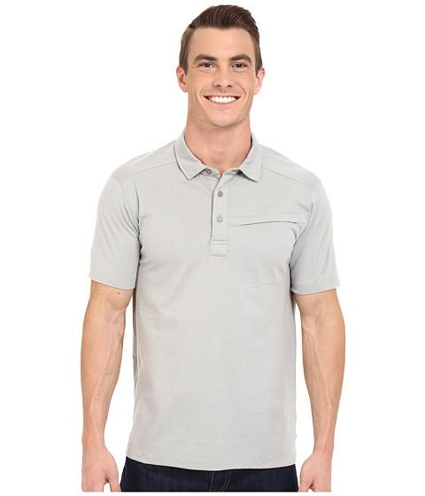 Imbracaminte Barbati ToadCo Motile Short Sleeve Polo Shirt Light Ash