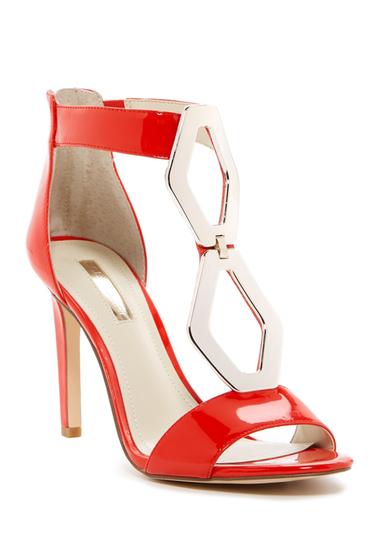 Incaltaminte Femei BCBGeneration Cayce Cutout Heel Sandal CANDY RED