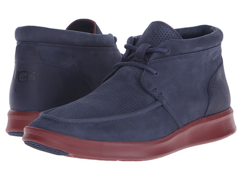 Incaltaminte Barbati UGG Hulman Perforated New Navy Nubuck