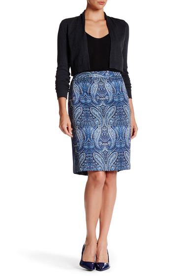 Imbracaminte Femei Nanette Lepore Sexy Paisley Skirt INDIGO MULTI