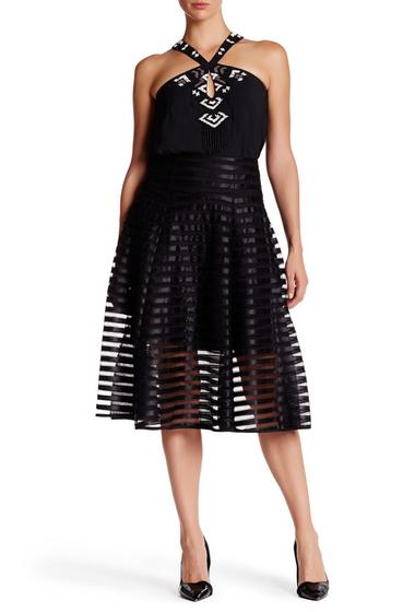 Imbracaminte Femei Nanette Lepore Transparency Skirt BLACK