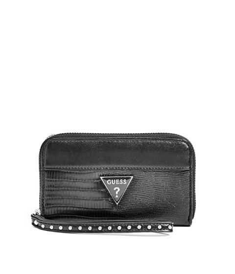 Accesorii Femei GUESS Josefina Zip-Around Wristlet black