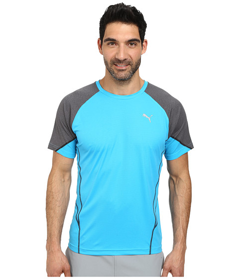 Imbracaminte Barbati PUMA PT At Cool Nov Tee Hawaiian OceanIron Gray Heather