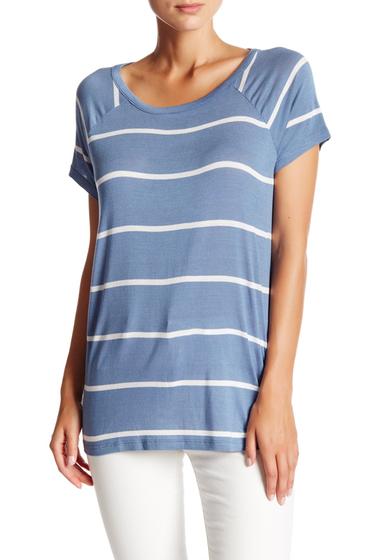 Imbracaminte Femei Abound Open Back Stripe Tee BLUE C LUCY STP