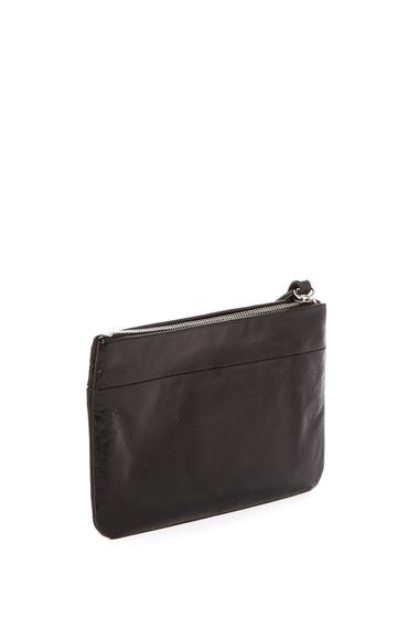 Accesorii Femei Hobo Carley Leather Zip Wristlet BLACK