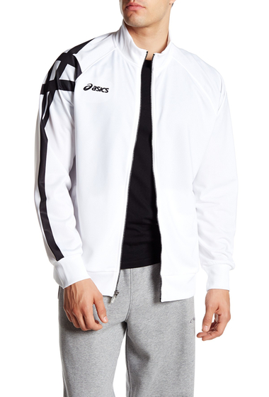 Imbracaminte Barbati ASICS Tiger Warm-Up Jacket WHITE