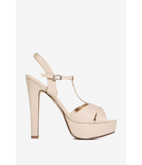 Incaltaminte Femei CheapChic Omega-s Hope For The Best Platform Nude