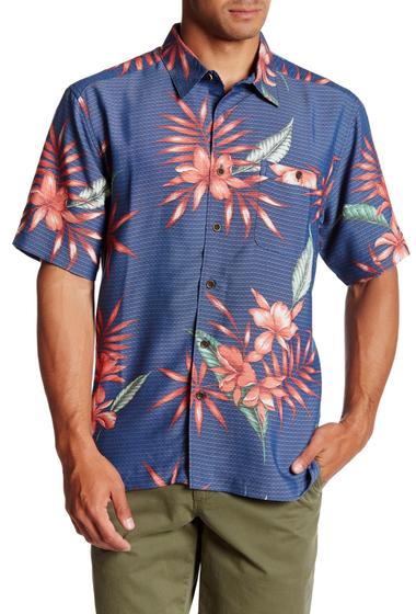 Imbracaminte Barbati Quiksilver Kealoha Short Sleeve Comfort Fit Shirt BRD0-ENSIGN BLUE