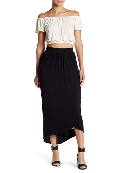 Imbracaminte Femei Bobeau Tulip Maxi Skirt BLACK