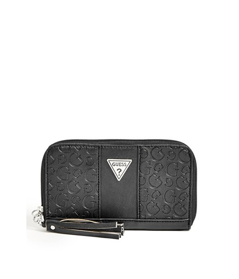 Accesorii Femei GUESS Chantilly Logo Zip-Around black