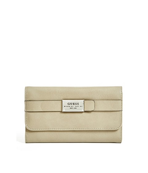 Accesorii Femei GUESS Oliver Wallet khaki