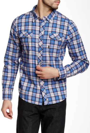 Imbracaminte Barbati Travis Mathew Tucker Plaid Regular Fit Shirt OCEAN PLAID