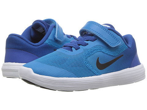 Incaltaminte Baieti Nike Revolution 3 (InfantToddler) Blue OrbitBlackBlue JayWhite