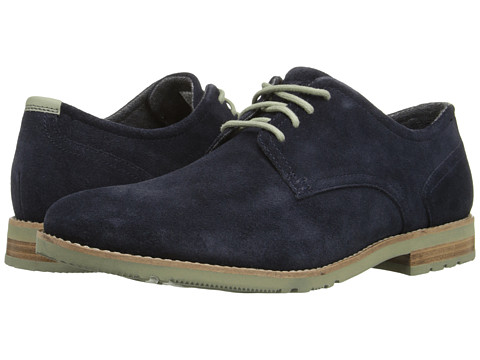 Incaltaminte Barbati Rockport Ledge Hill Too Plain Toe Oxford Navy Suede