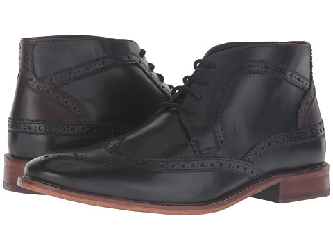 Incaltaminte Barbati Ted Baker Pericop 2 BlackDark Brown Leather
