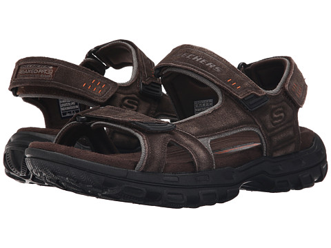 Incaltaminte Barbati SKECHERS Relaxed Fit 360 Gander - Alec Black