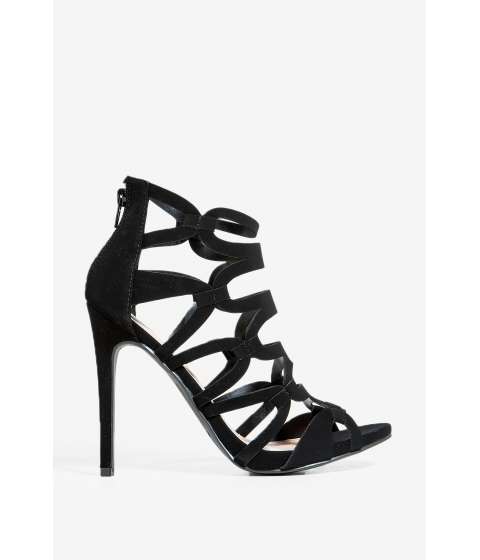 Incaltaminte Femei CheapChic Mosca Stuck On You Heel Black