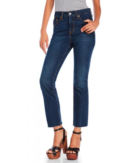 Imbracaminte Femei Levi's Kick Flare Cropped Jeans Oceansprayindigo