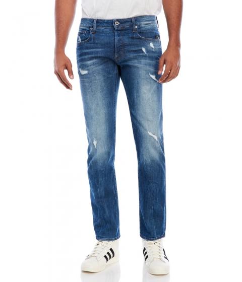 Imbracaminte Barbati G-STAR RAW Attacc Straight Jeans Ltageddestroy