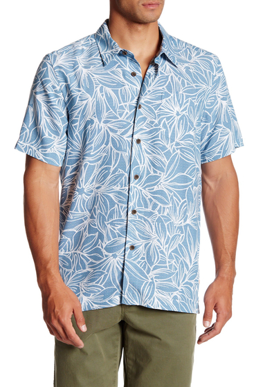 Imbracaminte Barbati Quiksilver Punta Conejo Short Sleeve Tailored Fit Shirt BLM0-PROVENCIAL