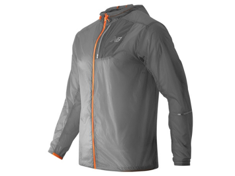 Imbracaminte Barbati New Balance Lite Packable Jacket Silver Mink with Impulse