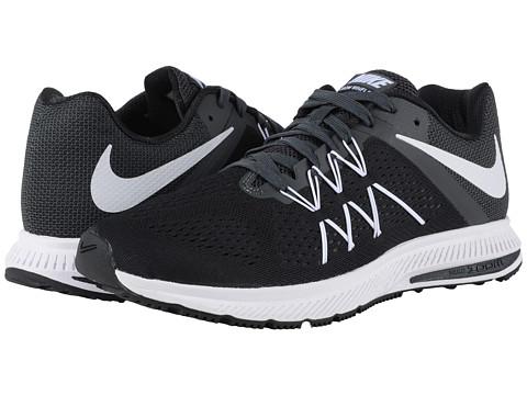 Incaltaminte Barbati Nike Zoom Winflo 3 BlackAnthraciteWhite