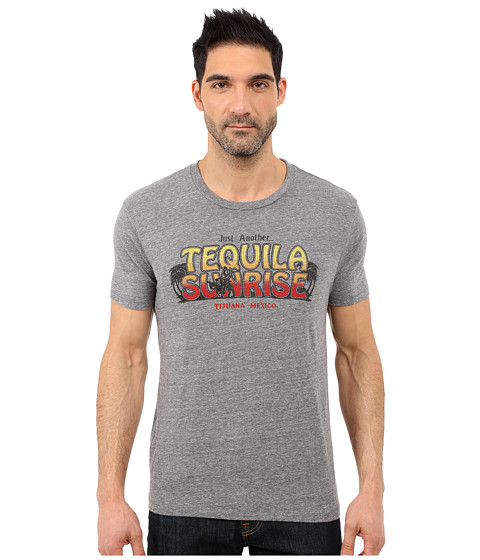 Imbracaminte Barbati Lucky Brand Tequila Sunrise Graphic Tee Grey
