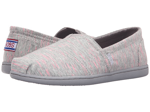 Incaltaminte Femei SKECHERS Bobs Bliss - Dashes amp Dots Gray
