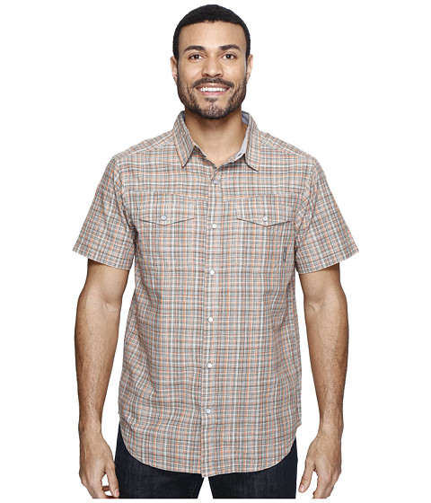 Imbracaminte Barbati Columbia Leadville Ridgetrade Short Sleeve Shirt Valencia Plaid
