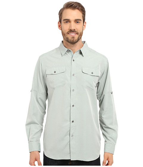 Imbracaminte Barbati Columbia Pilsner Peaktrade Long Sleeve Shirt Pine Green Heather