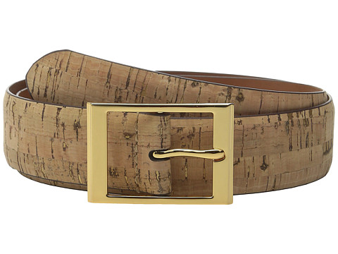 Accesorii Femei LAUREN Ralph Lauren Cork w Foil 1 38quot Center Belt Natural