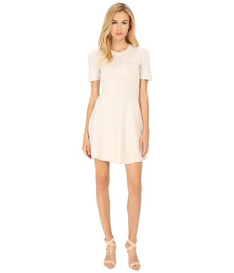Imbracaminte Femei McQ Swallow Jacquard Dress Pale Grey Melange