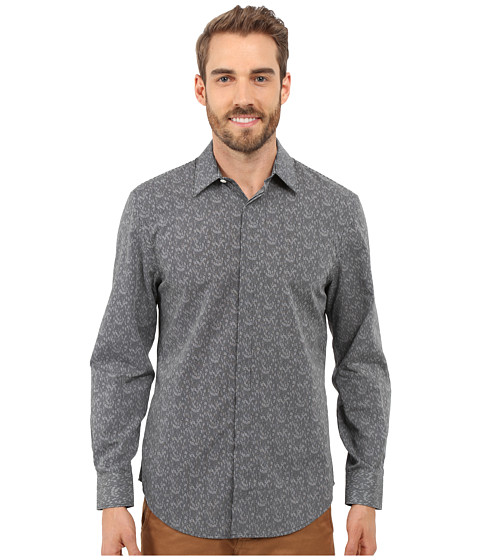 Imbracaminte Barbati Perry Ellis Exclusive Geo Print Shirt Black