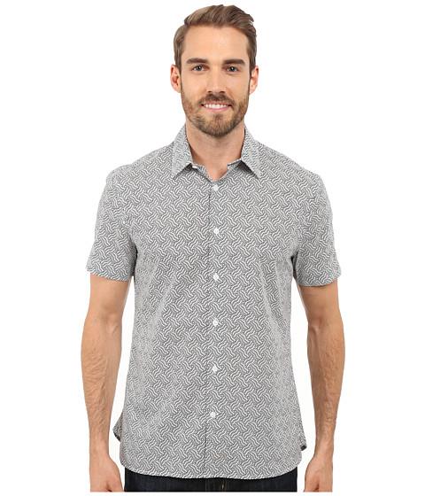 Imbracaminte Barbati Perry Ellis Exclusive Wave Print Shirt Bright White