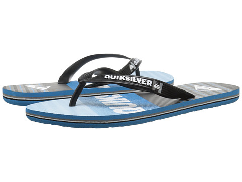 Incaltaminte Barbati Quiksilver Molokai Inclined BlackBlueBlue