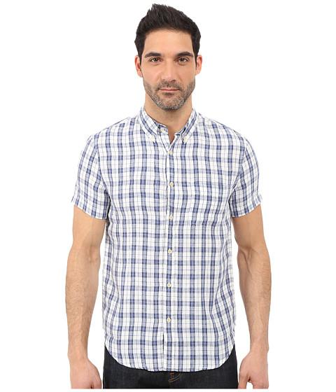 Imbracaminte Barbati Lucky Brand Willow Ballona Shirt WhiteBlue