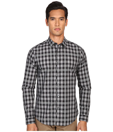 Imbracaminte Barbati Theory BennerEdgeworth Button Up Black Multi