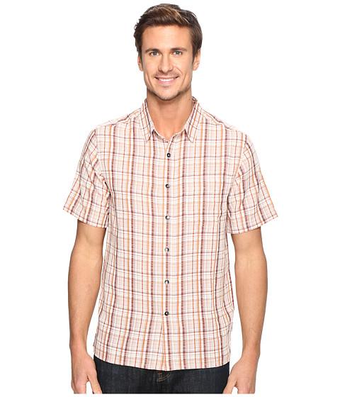 Imbracaminte Barbati Royal Robbins Pilat Plaid Short Sleeve Shirt Crimson