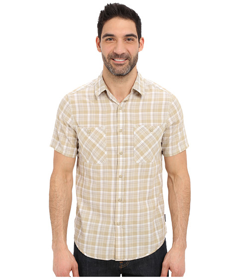 Imbracaminte Barbati Royal Robbins Biscayne Bay Plaid Short Sleeve Shirt Desert