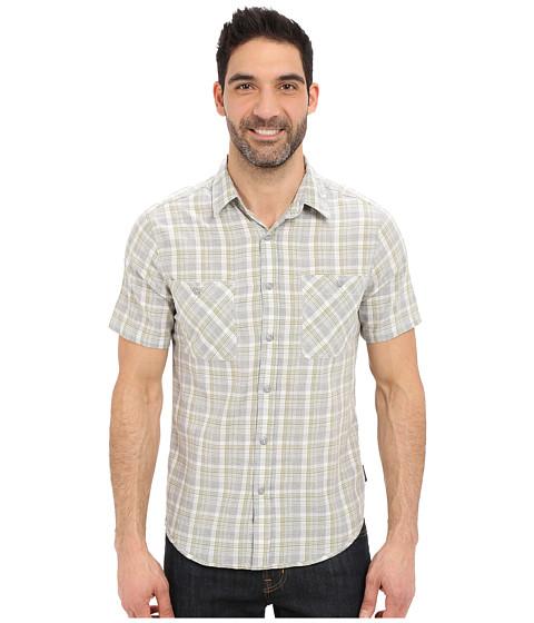 Imbracaminte Barbati Royal Robbins Biscayne Bay Plaid Short Sleeve Shirt Light Pewter