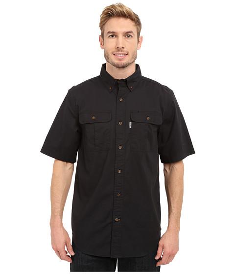 Imbracaminte Barbati Carhartt Foreman Solid Short Sleeve Work Shirt Black