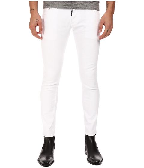 Imbracaminte Barbati DSQUARED2 Clement Stretch Cotton Denim in White White
