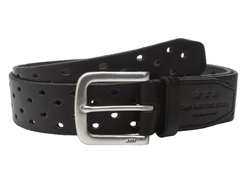 Accesorii Barbati John Varvatos 38mm Harness Perforated Veg Belt Elephant