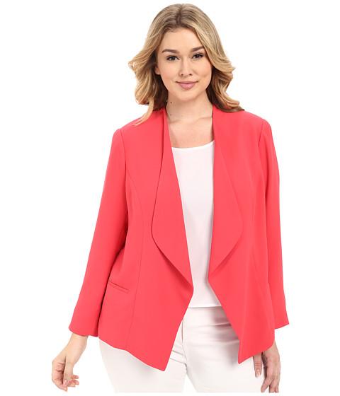 Imbracaminte Femei Vince Camuto Plus Size Drape Front Blazer Guava Fruit