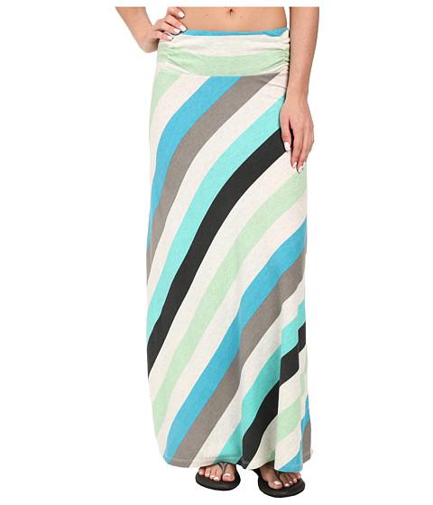 Imbracaminte Femei Aventura Clothing Quinlee Maxi Skirt Blue Turquoise