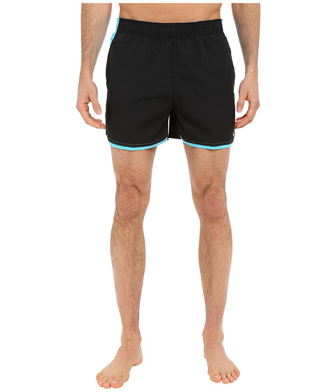 Imbracaminte Barbati Nike Color Surge Current 4rdquo Volley Short Black
