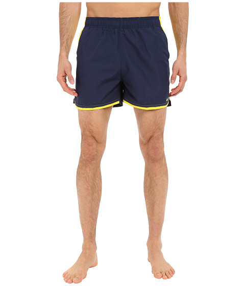 Imbracaminte Barbati Nike Color Surge Current 4rdquo Volley Short Navy