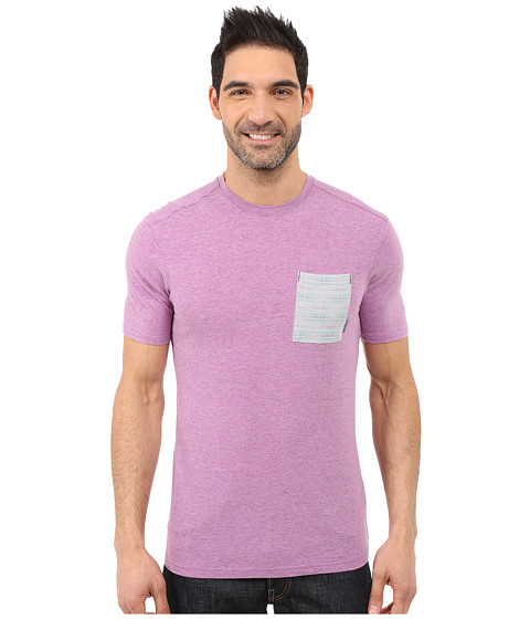 Imbracaminte Barbati Merrell Pasco Printed Pocket Crew Tee Hyacinth Violet Heather