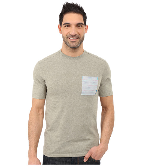 Imbracaminte Barbati Merrell Pasco Printed Pocket Crew Tee Putty Heather