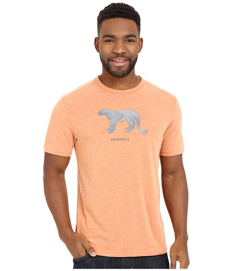 Imbracaminte Barbati Merrell Big Cat Graphic Tee Burnt Orange Heather